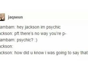 jackson, kpop, and magic image