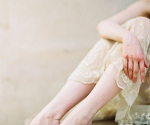 girl and pale image