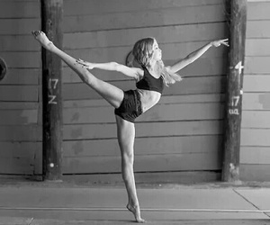 ballerina, ballet, and black and white image