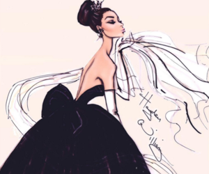 hayden williams, drawing, and dress image
