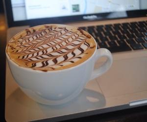 art, latte art, and barista image