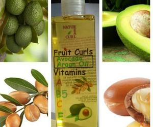 avocado, oil, and argan image