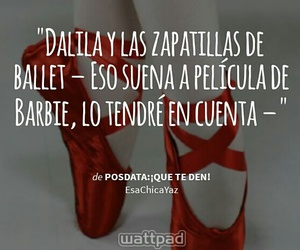 ballet, books, and frases image