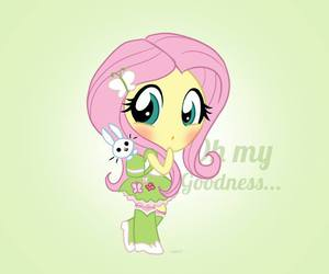 MLP, fluttershy, and equestria girls image