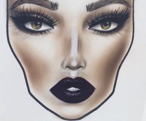 beauty, make, and nails image