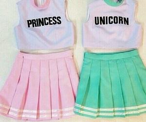 unicorn, princess, and pink image