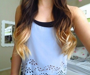hair, tumblr, and ombre image
