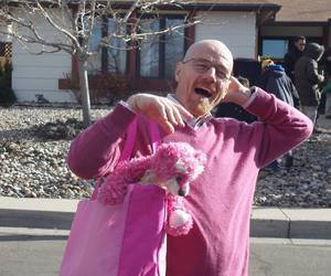 breaking bad, walter white, and pink image