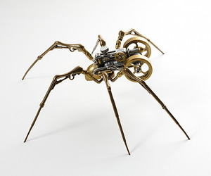 spider and steampunk image