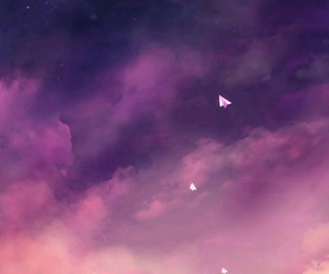 wallpaper, sky, and stars image