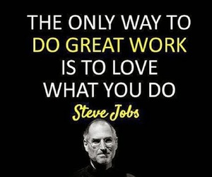 quote, love, and job image