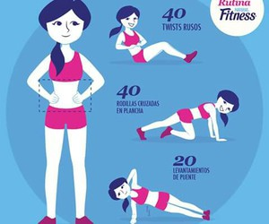 fitness, workout, and sport image