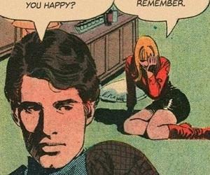 comic, girl, and sad image