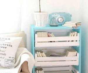 blue, diy, and room image