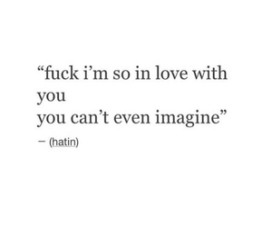 quote, love, and imagine image