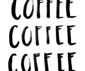 coffee, food, and words image