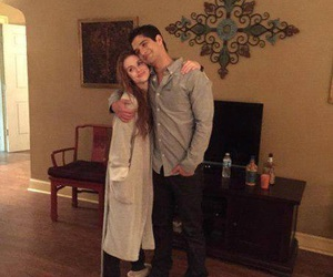 tyler posey, holland roden, and teen wolf image