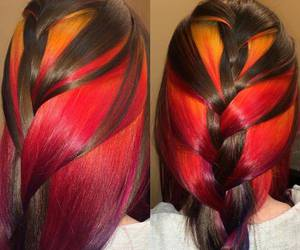 fashion, hair, and hairextensions image