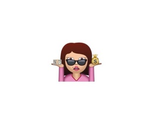 money, swag, and emoji image