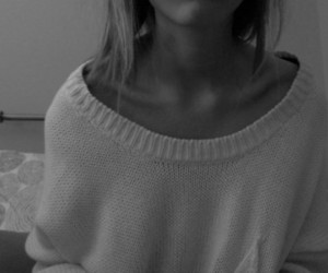 girl, collarbones, and skinny image
