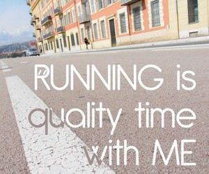 running, motivation, and fitness image
