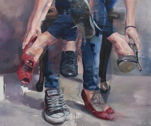 art and shoes image