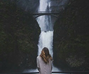nature, travel, and waterfall image