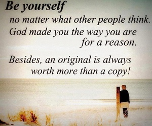 be yourself, god, and part of art image