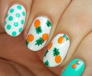 nails, summer, and cute image