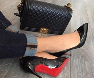 fashion, black, and chanel image