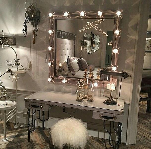 Future Lights Luxury Makeup Beauty, Luxury Makeup Mirror With Lights