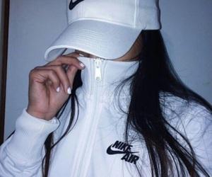 nike, white, and tumblr image