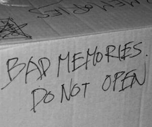 memories, bad, and box image