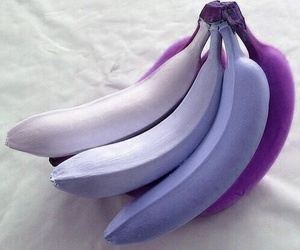 banana, purple, and fruit image