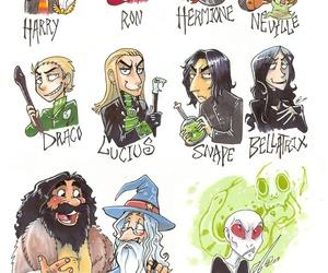 harry potter, dumbledore, and voldemort image