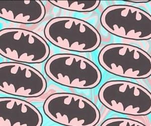 batman, fond d'écran, and rose et bleu image