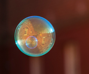 beautiful, bubble, and color image