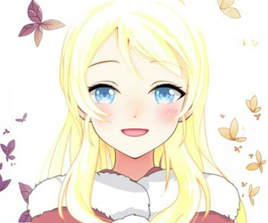 blonde anime, blond anime girl, and blond anime image