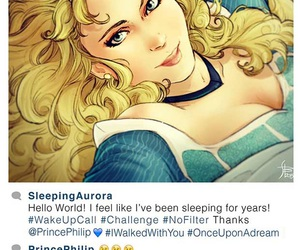 disney, aurora, and instagram image