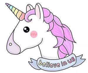 unicorn, pink, and wallpaper image