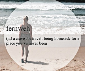 beach, girl, and quote image