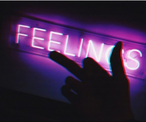 feelings, sign, and fuck image
