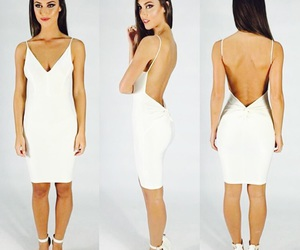 backless, heels, and clothes image