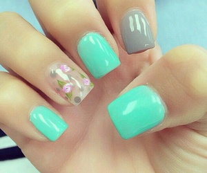 nails girls image