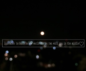 middle, moon, and music quotes image