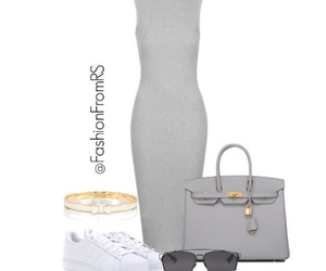 gray and Polyvore image