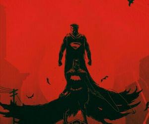 batman, superman, and wallpaper image