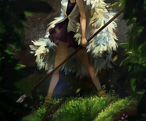 princess mononoke, anime, and ghibli image