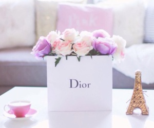flowers, dior, and girly image