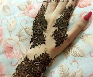 design, nails, and henna image